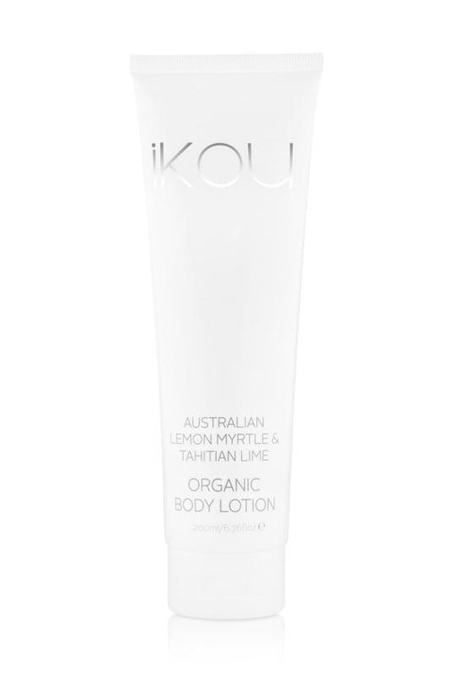 iKOU ORGANIC BODY LOTION 200ML - AUSTRALIAN LEMON MYRTLE & TAHITIAN LIME
