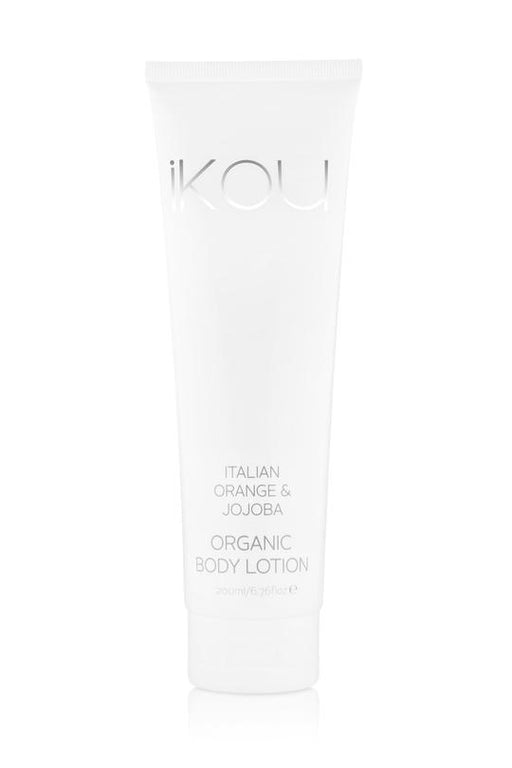 iKOU ORGANIC BODY LOTION 200ML - ITALIAN ORANGE & JOJOBA