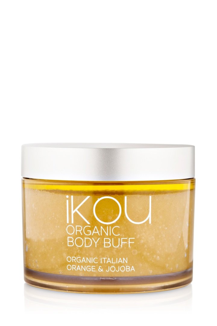 iKOU ORGANIC BODY SCRUB 300G - ORGANIC BODY BUFF
