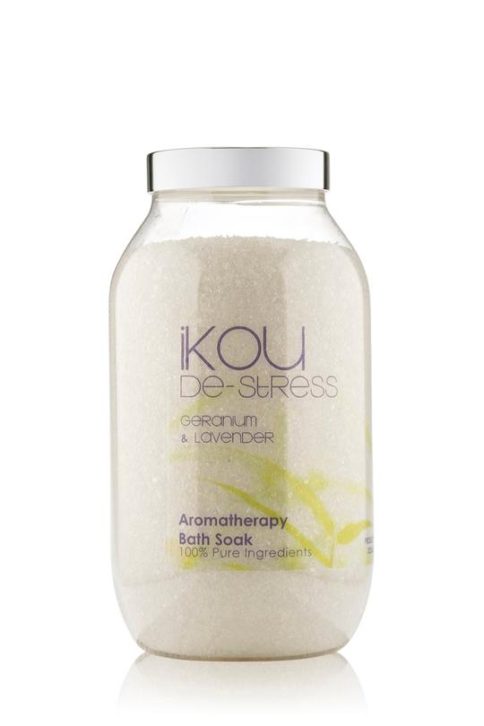 iKOU 100% NATURAL BATH SOAK 850G - DE-STRESS