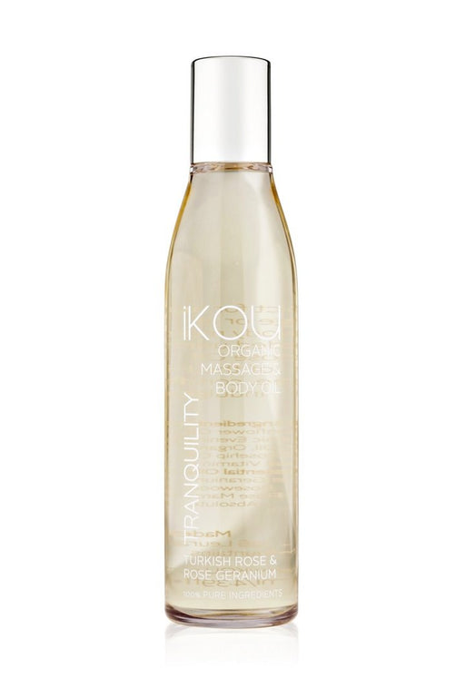 iKOU ORGANIC MASSAGE OIL 130ML - TRANQUILITY