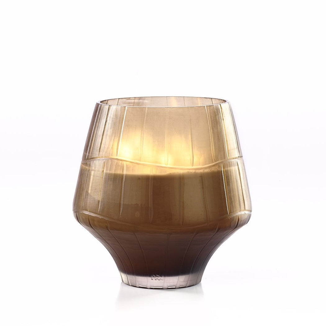 ONNO LEAVES CHAMPAGNE L CANDLE - GINGER FIG