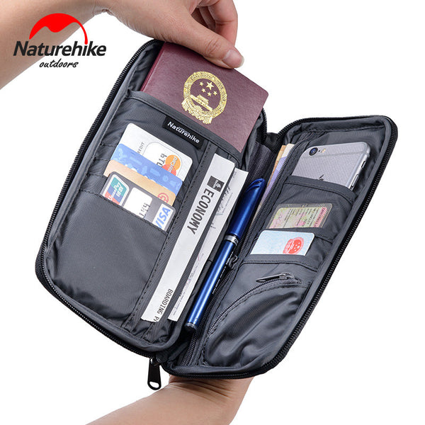 Nature hike Travel Passport Card Storage Bag Ticket Cash Wallet Pouch Holder For iphone