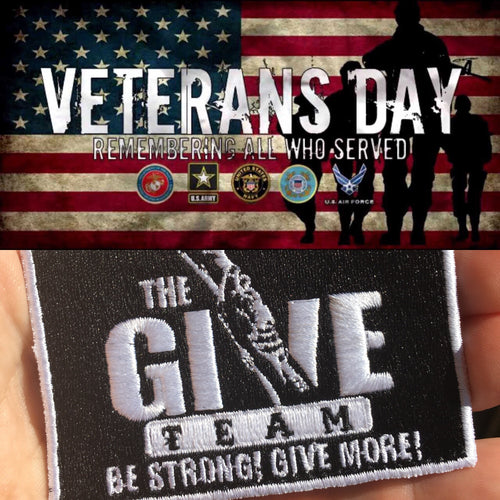 THANK YOU TO ALL WHO PARTICIPATED IN THE VIRTUAL VETERANS DAY WORKOUT