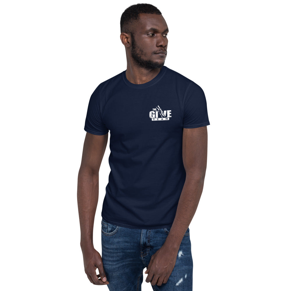 GIVE TEAM Short-Sleeve Unisex Casual T-Shirt