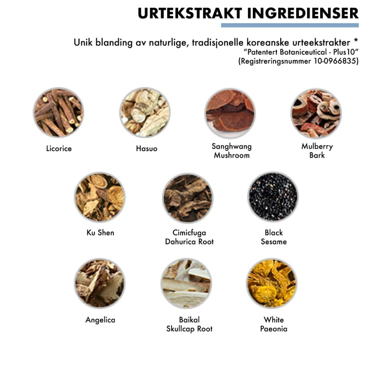 beste koreansk essens naturlig ingredienser