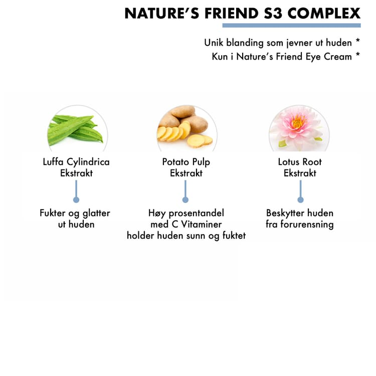 Nature's Friend Eye and Nourishing Cream - Kul-Pibu