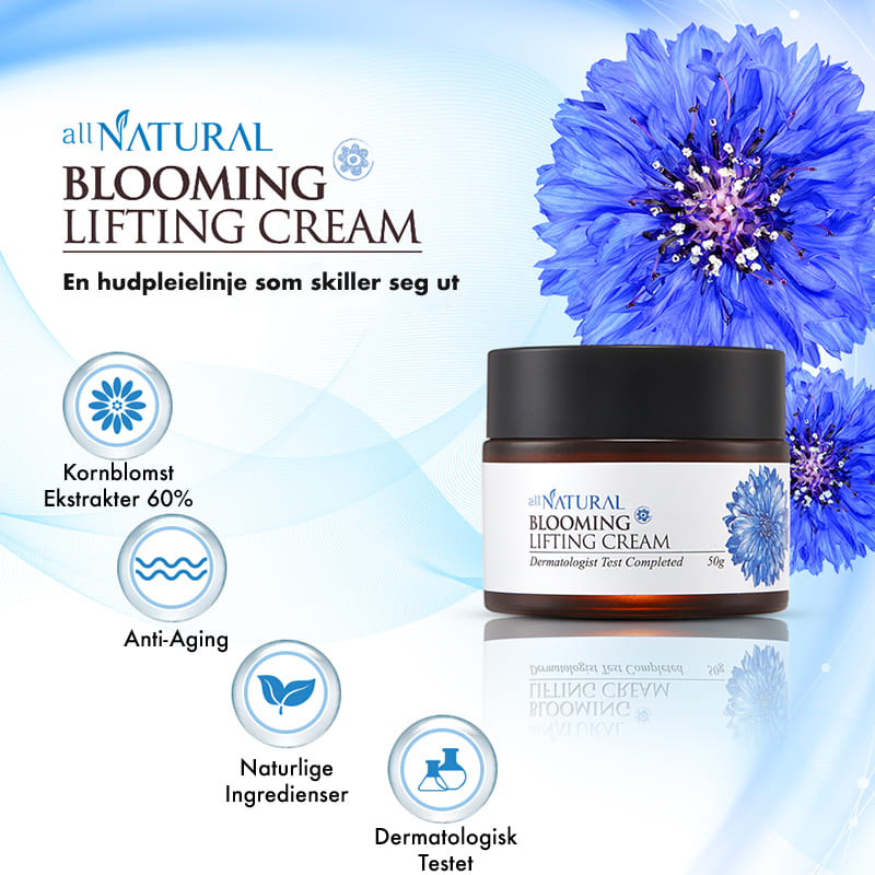 All Natural Blooming Lifting Cream - Kul-Pibu