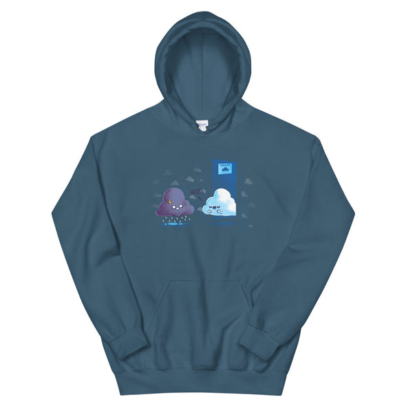 Rainy Queue - Hooded Sweatshirt