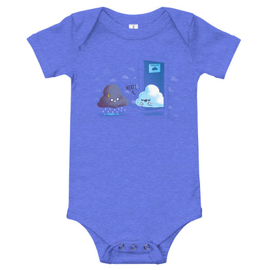Rainy Queue - Baby Bodysuit Short Sleeve