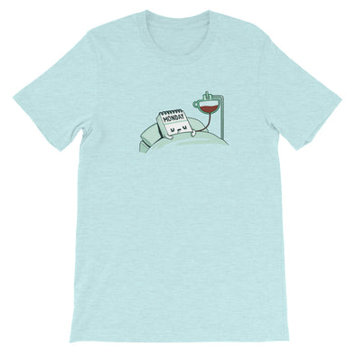 Monday Coffee - Short Sleeve Unisex T-Shirt