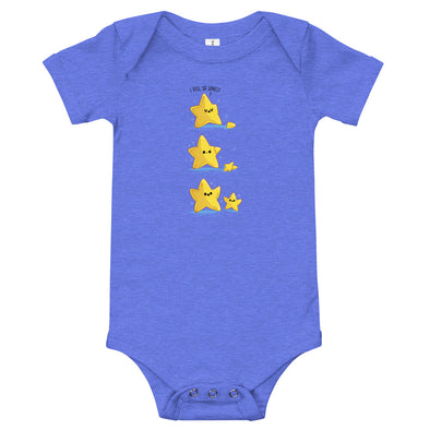 Lonely Star - Baby Bodysuit Short Sleeve