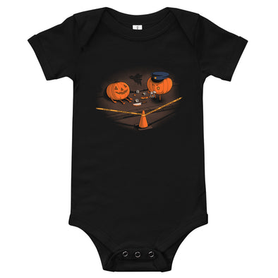 Crime Scene - Baby Bodysuit Short Sleeve