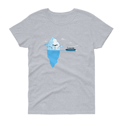 Iceberg Hugs - Women's Short Sleeve T-shirt