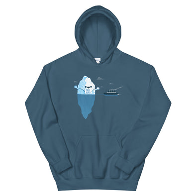 Iceberg Hugs - Hooded Sweatshirt