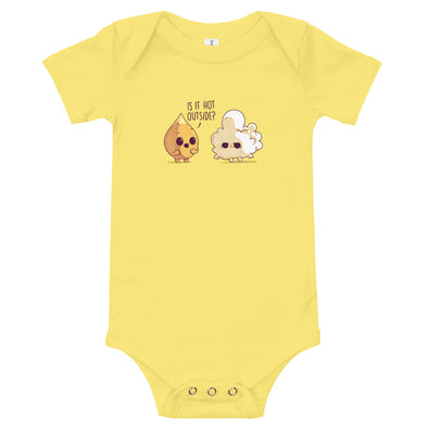 Hot Outside - Baby Bodysuit Short Sleeve