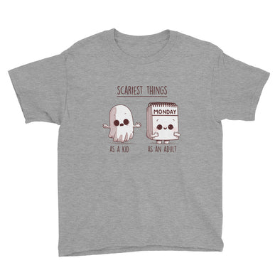 Scary Things - Youth Short Sleeve T-Shirt