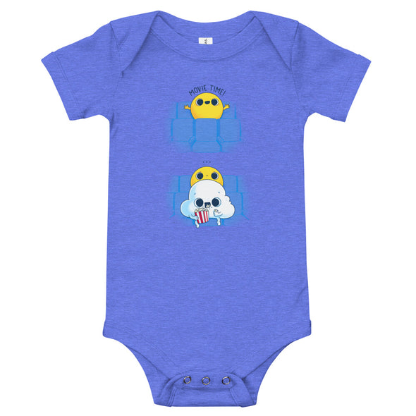 Movie Time - Baby Bodysuit Short Sleeve
