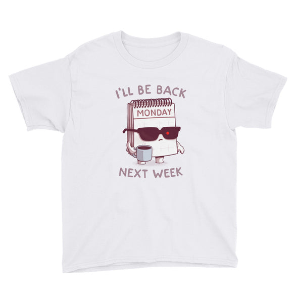 Monday is Back - Youth Short Sleeve T-Shirt