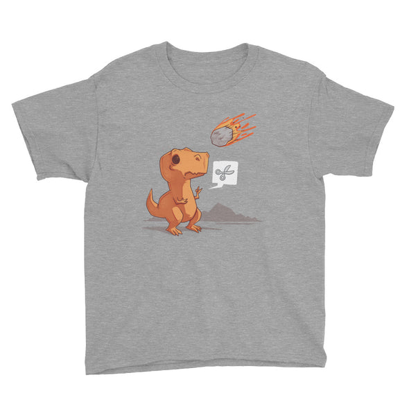 Asteroid Paper Scissors - Youth Short Sleeve T-Shirt