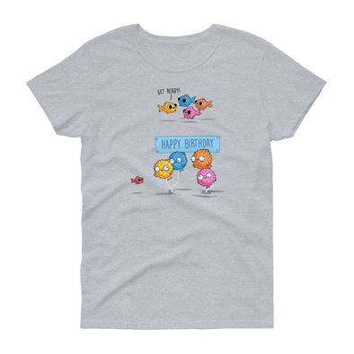 Happy Birthday - Women's short sleeve t-shirt