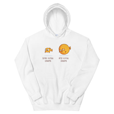 Before After Grandma - Hooded Sweatshirt