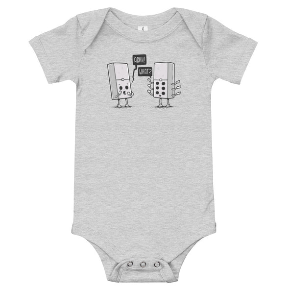 I Am Not a Monster -  Baby Bodysuit Short Sleeve