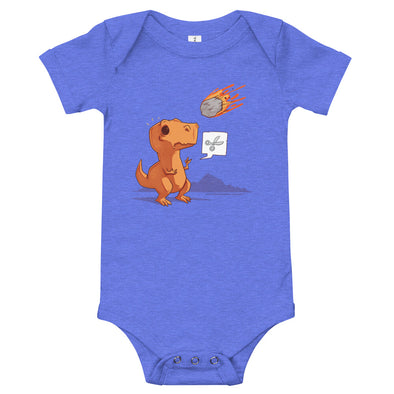 Asteroid Paper Scissors - Baby Bodysuit Short Sleeve