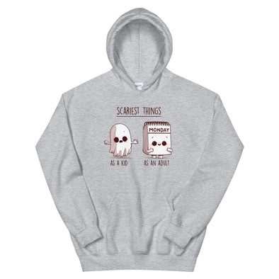 Scary Monday -  Hooded Sweatshirt