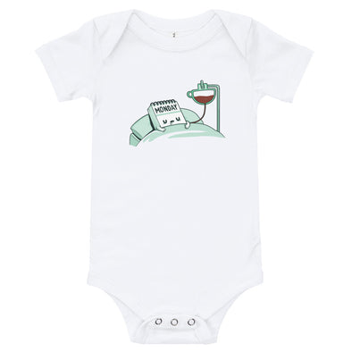 Monday Coffee - Baby Bodysuit Short Sleeve