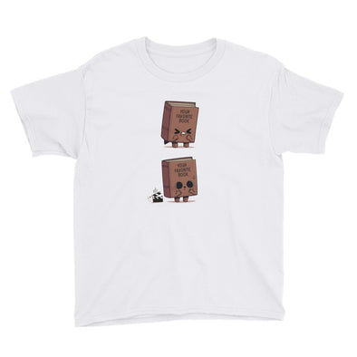 Shitty Book - Youth Short Sleeve T-Shirt