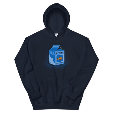 Missing Fish - Hooded Sweatshirt