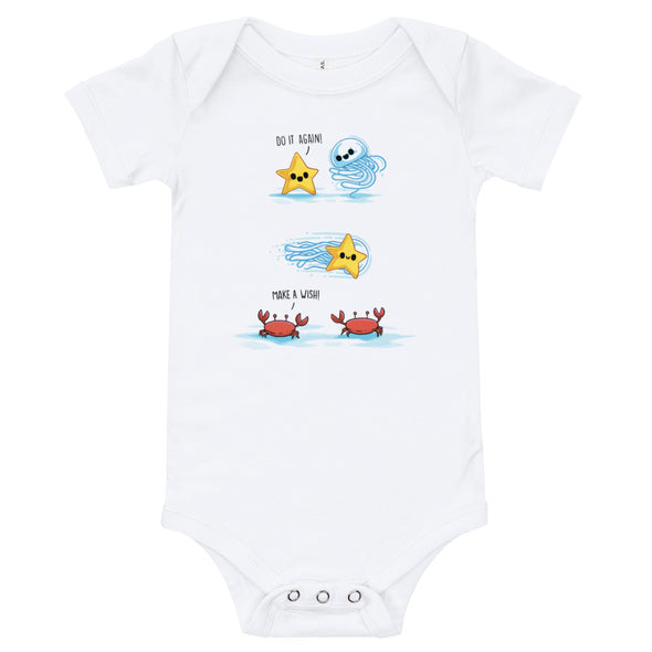 Make a Wish - Baby Bodysuit Short Sleeve