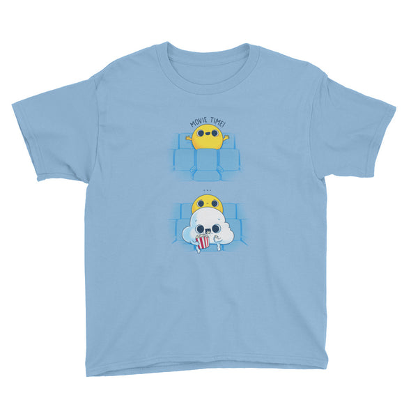 Movie Time -Youth Short Sleeve T-Shirt