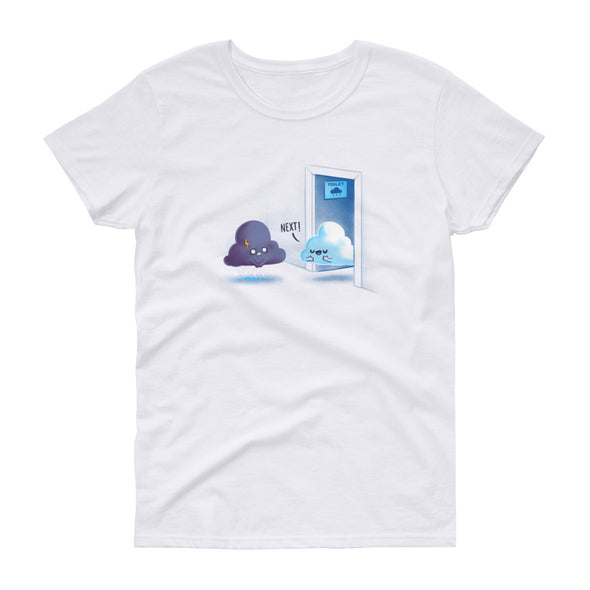 Rainy Queue - Women's Short Sleeve T-shirt