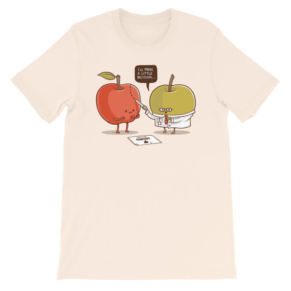Famous Apple - Short Sleeve Unisex T-Shirt