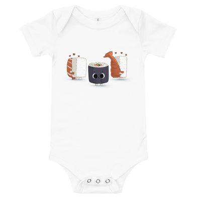 Lonely Sushi - Baby Bodysuit Short Sleeve