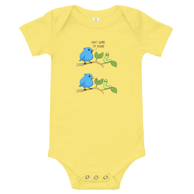 I'm Vegan - Baby Bodysuit Short Sleeve