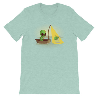 Alien Fishing - Short Sleeve Unisex T-Shirt