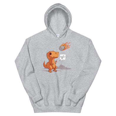 Asteroid Paper Scissors - Hooded Sweatshirt