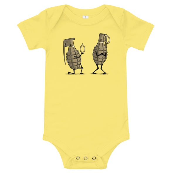 Dangerous Proposal - Baby Bodysuit Short Sleeve