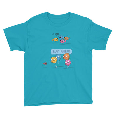 Happy Birthday - Youth Short Sleeve T-Shirt