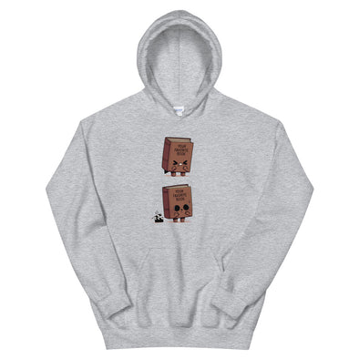 Shitty Book - Hooded Sweatshirt