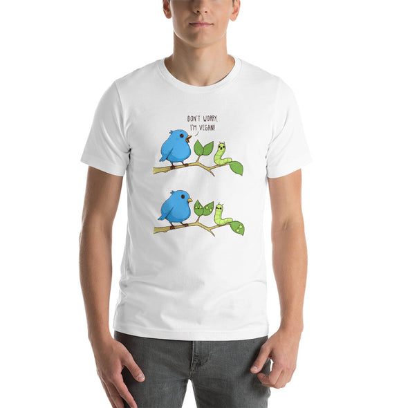 I'm Vegan - Short Sleeve Unisex T-Shirt