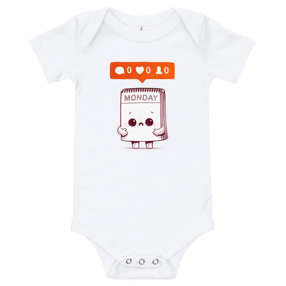 Everybody Hates Mondays - Baby Bodysuit Short Sleeve