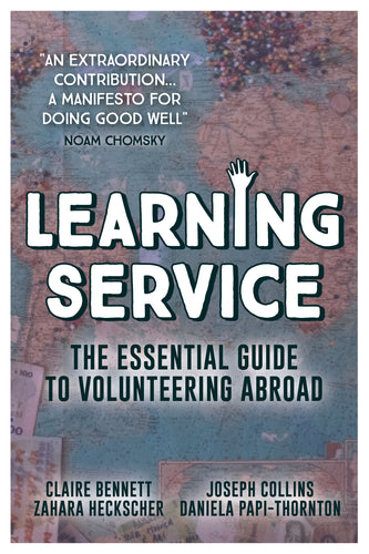 (PREORDER) Learning Service: The Essential Guide to Volunteering Abroad