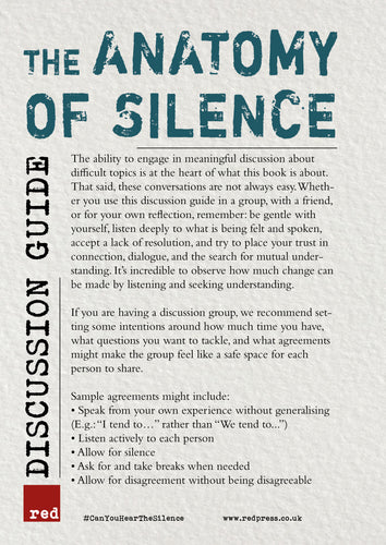 Anatomy of Silence Discussion Guide