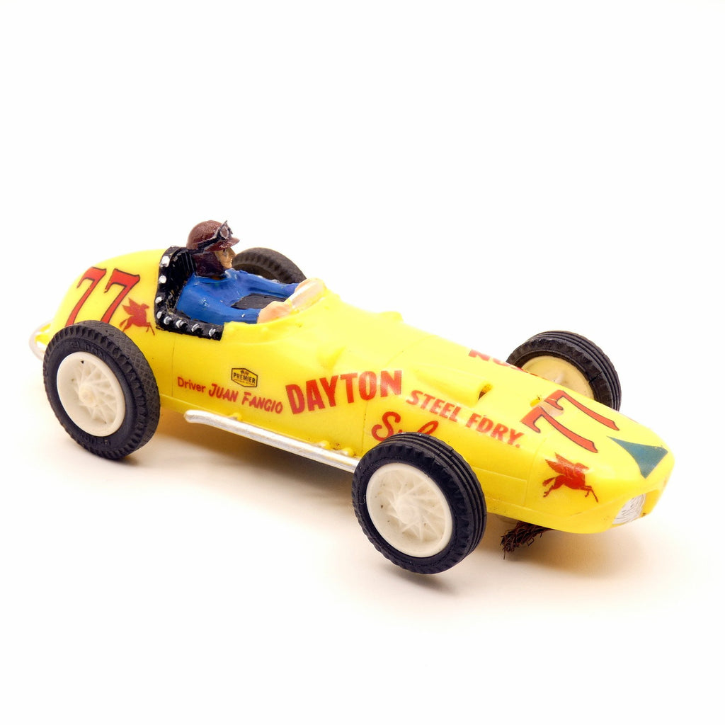 Indypicker Blog - Vintage Eldon Slot Car Find F1 Champ Juan Fangio