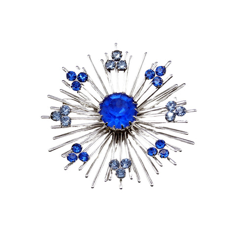 Modern Period Jewelry - Sarah Coventry Atomic Burst Brooch