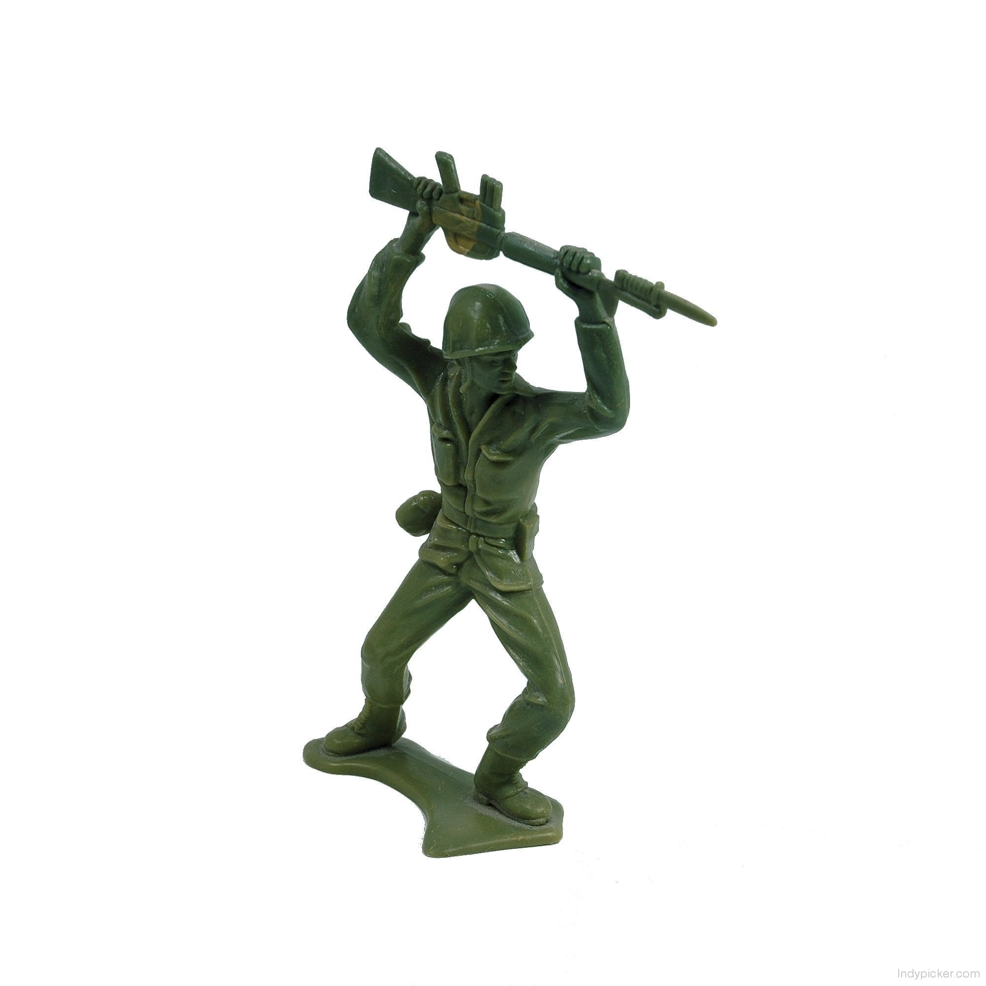 Vintage Tim Mee Plastic Army Man with M-16